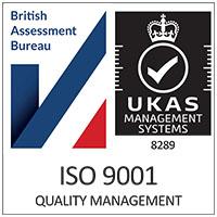 ISO 9001 Certified Badge Primenet